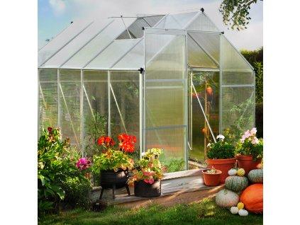 Pětidílný zahradní skleník 3,1 x 1,9 x 1,95 m PATIO