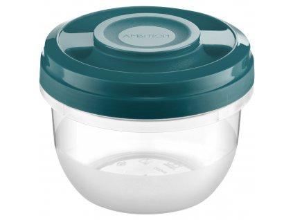 Nádobka do mikrovlné trouby Smart Turquoise 0,5 l AMBITION
