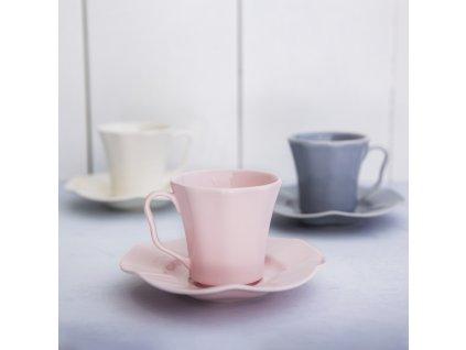 Keramický šálek Diana Rustic Pink 220 ml AMBITION