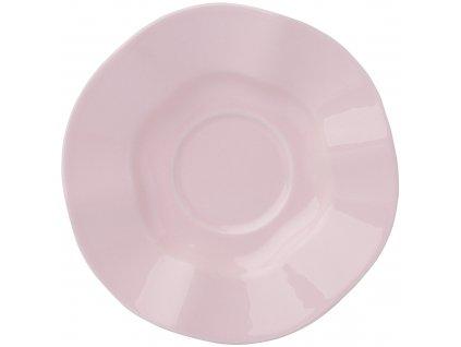 Keramický podšálek Diana Rustic Pink 15 cm AMBITION