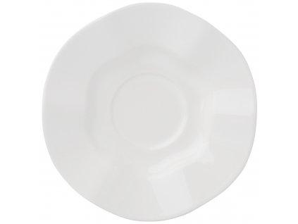 Keramický podšálek Diana Rustic Cream 15 cm AMBITION
