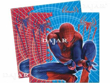 Sada 20 ubrousků Amazing Spiderman 33 x 33 cm DISNEY