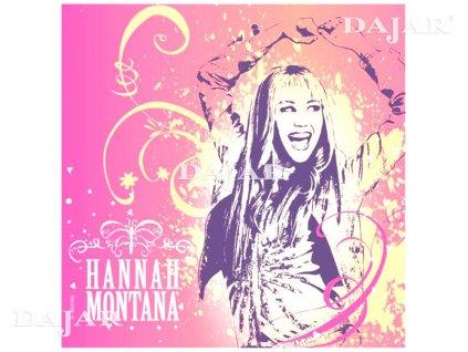 Ubrus fólie Hannah Montana 120 x 180 cm DISNEY