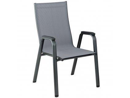 Hliníková zahradní židle Cirrus Antracit KETTLER