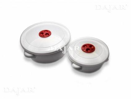Set 2 hrnců do mikrovlné trouby Smart EXPRESS