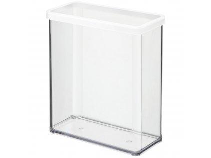 Vysoká plastová dóza Loft s víkem 3,2 l ROTHO