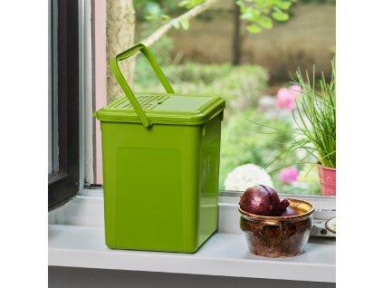 Kuchyňský kompostér s filtrem Bio Green 9 l ROTHO