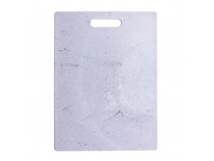 Plastové prkénko na krájení Marble White 36,5 x 27,5 cm ROTHO