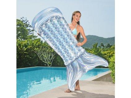 Nafukovací plážová matrace Iridescent Mermaid 193 x 101 cm BESTWAY