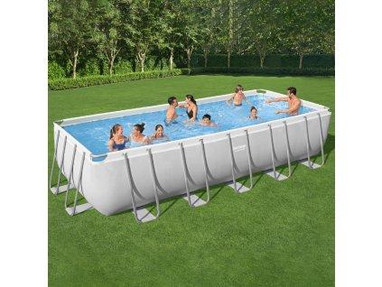Nadzemní bazén Power Steel 5611Z 640 x 274 x 132 cm, 19281 l BESTWAY