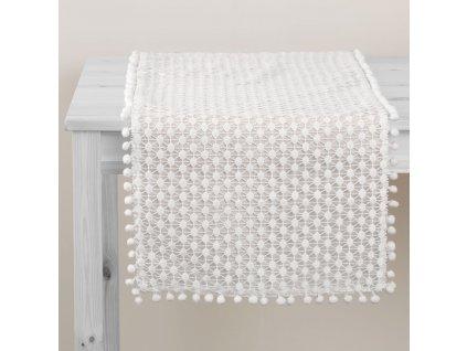 Dekorační běhoun / štola z polyesteru Lovely Dot 40 x 150 cm AMBITION