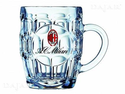 Půllitr na pivo AC Milan Britania 500 ml