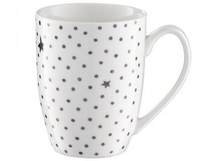 Porcelánový hrnek Poppy Dots and Stars 370 ml AMBITION