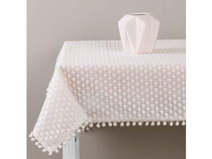 Dekorační ubrus z polyesteru Lovely Dot 130 x 160 cm AMBITION
