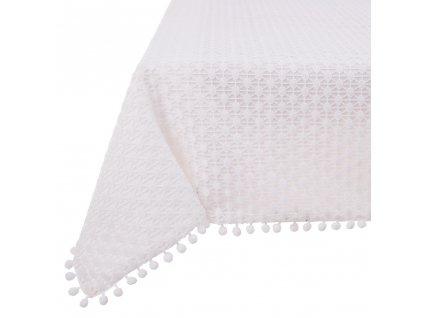 Dekorační ubrus z polyesteru Lovely Dot 160 x 280 cm AMBITION