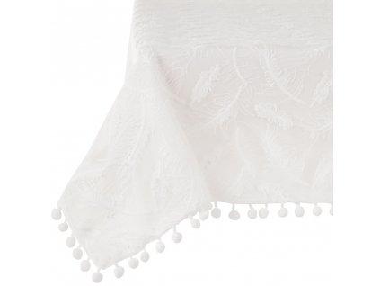 Dekorační ubrus z polyesteru Lovely Feather 130 x 160 cm AMBITION
