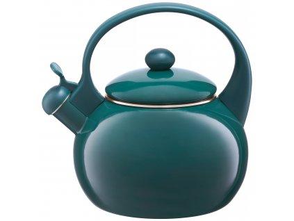 Smaltovaná čajová varná konvice  Zelená 2,2 l AMBITION