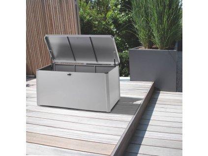 Ocelový zahradní box Kettcase Silver 165 x 75 x 75 cm KETTLER