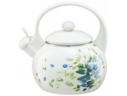 Smaltovaný čajník Bizet Kalka 2,2 l AMBITION
