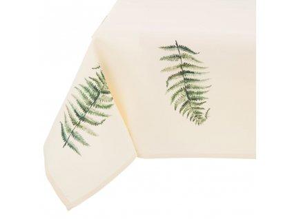 Dekorační ubrus z polyesteru Botanic Pteridium 160 x 280 cm AMBITION