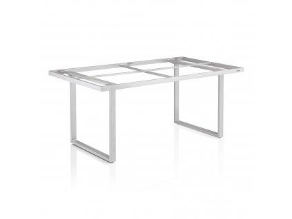 Nerezový rám stolu Ego Modular Dining Silver 160 x 95 x 68 cm KETTLER