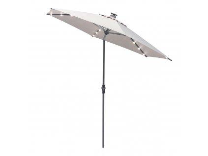 Zahradní slunečník s osvětlením Easy Allround LED Antracit Gray 3 m KETTLER