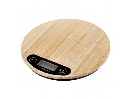 Bambusová kuchyňská váha Natural 20 cm AMBITION