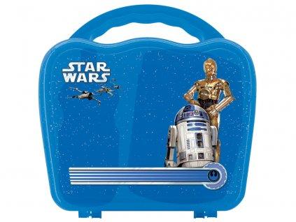 Svačinová sada Star Wars Wave Box 3-díly DISNEY