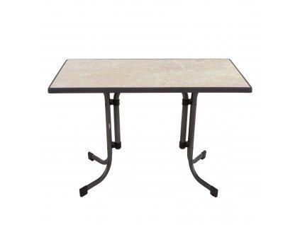Zahradní stůl Dine & Relax Spanish Ceramico / Antracit 110 x 70 cm PATIO