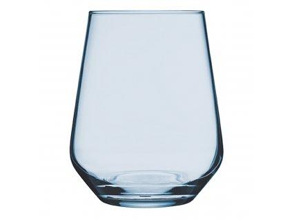 Sada 6 nízkých sklenic Allegra Turquoise 425 ml PASABAHCE