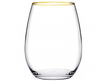Sada 6 sklenic Amber Gold 350 ml PASABAHCE