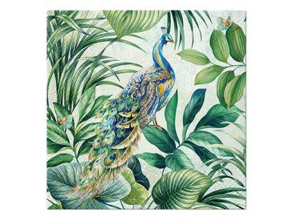 Sada 20 ubrousků Peacock 33 x 33 cm PAW