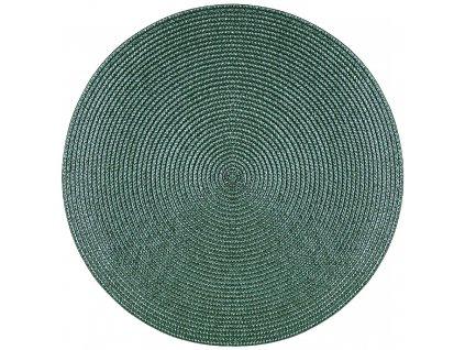 Kulatá podložka na stůl Hawai Smaragd 38 cm AMBITION
