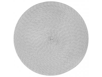 Kulatá podložka na stůl Hawai Gray 38 cm AMBITION