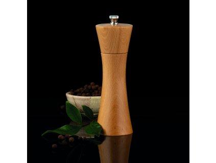 Mlýnek na pepř a sůl Madeira Borovice 18 cm AMBITION