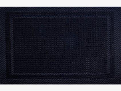 Podložka na stůl Velvet Black PVC / PS 30 x 45 cm AMBITION