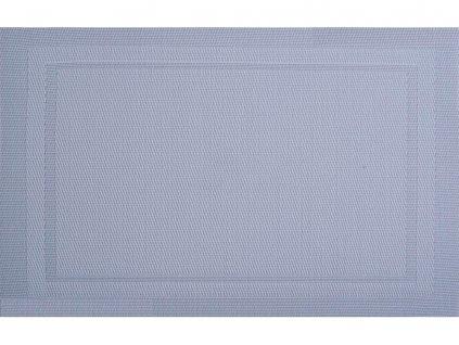 Podložka na stůl PVC / PS Velvet Light Grey 30 x 45 cm AMBITION