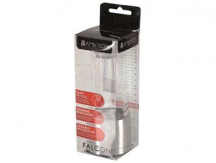 Akrylový mlýnek na pepř / sůl Falconi AMBITION