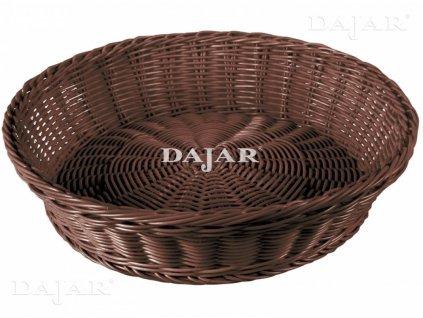 Košík Brown Sante 38 x 9,5 cm AMBITION