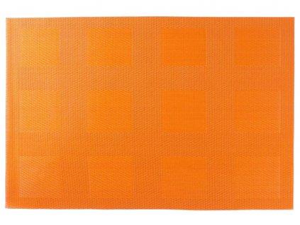Podložka na stůl PVC / PS Velvet Orange II. 30 x 45 cm AMBITION