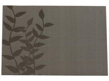 Podložka na stůl Velvet Grey Twig  PVC / PS 45 x 30 cm AMBITION