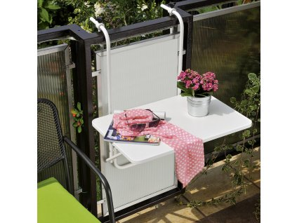 Závěsný stolek na balkón 40 x 60 cm PATIO