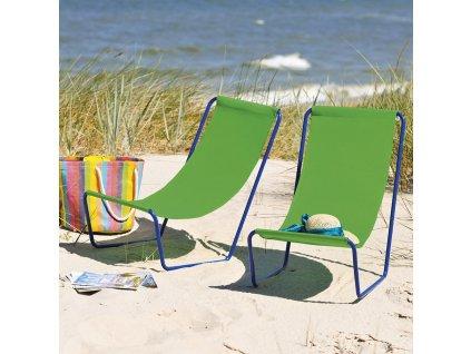Skládací plážové lehátko Siesta Green D032-12OW PATIO