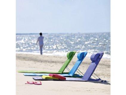 Skládací plážové lehátko Paradiso Blue D032-11OW PATIO