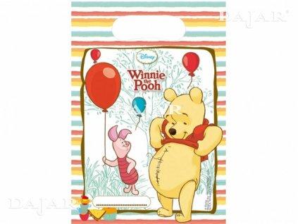 Sada 6 dárkových tašek Medvídek Pú Sweet Tweets DISNEY