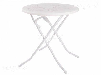 Zahradní sklápěcí stůl Dine & Relax Marble 70 cm PATIO