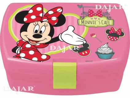 Svačinový box Minnie Mouse Cafe DISNEY