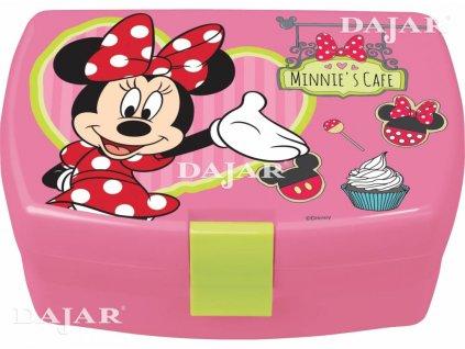 Svačinový box Minnie Mouse Cafe DISNEY