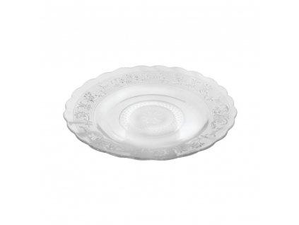 Dezertní talíř s tlačeným vzorem 18 cm