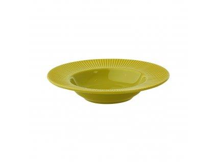 Keramický hluboký talíř Palette Green 24 cm AMBITION